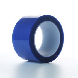 China Blue Acrylic Pet Paper Splicing Tape Liner Bottom Side 50Um Thickness supplier
