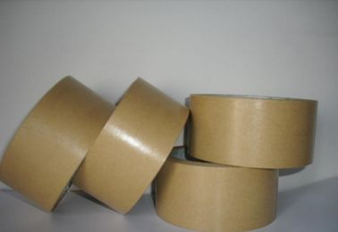 China Bottom Release Liner Paper Splicing Tape 140Um Thickness Brown Color supplier