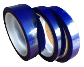 Customized Coated Acrylic Film Splicing Tape 65Um Thickness Blue Color