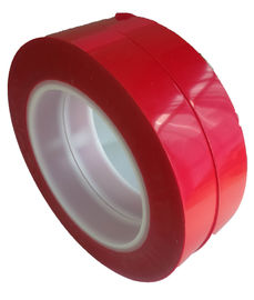 China 75um Thickness 55M Film Splicing Tape Red  Base Material For Label Printing supplier