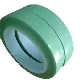 China High Heat Resistant  Release Film Splicing Tape Light Green Color 50mmX50m supplier