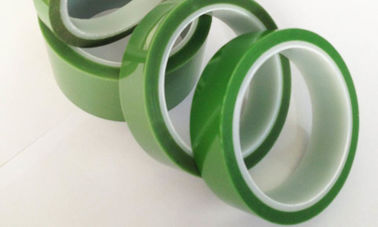China 55um PET Silicone Tape Radiation resistance characteristic for spraying powder supplier