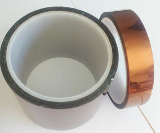 China Silicone Adhesion Double Sided Polyimide Tape  Bearing Temperature From -452F To 500F supplier