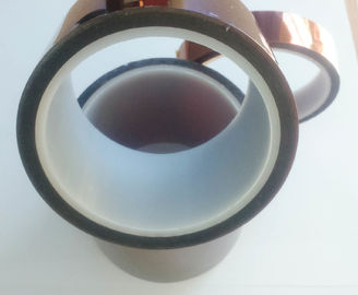 China Polyimide Kapton Tape High cohesive force and anti-corrosion 66m Length supplier