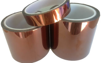 China High Heat Adhesive Tape Passed Non Halogen Test / Polyimide Tape PI-055 supplier