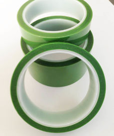 High Temp PET Silicone Tape 180 Degree Spraying Protection 33M / 66M Length