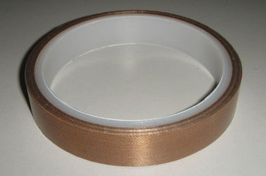 China Brown High Temperature Resistant Tape Glass Fiber Woven Cloth Base Material supplier
