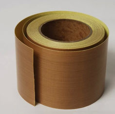 Brown High Temperature Resistant Tape Glass Fiber Woven Cloth Base Material