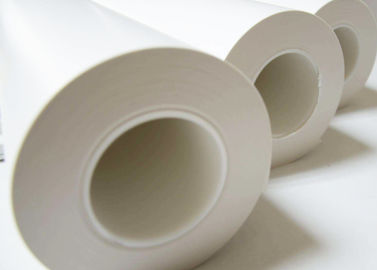 China Jumbo Roll White Non Silicone Non Silicone Release Liner Chemical Pulping For Stickers supplier