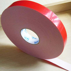 China Two sided adhesive tape coated strong acrylic glue with PE foam backing material supplier
