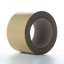 Self Adhesive White Kraft Paper Tape For Splicing Bottom Release Liner