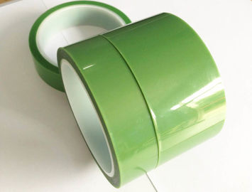 Customized PET Silicone Tape Coating With Organic Adhesive On One Side
