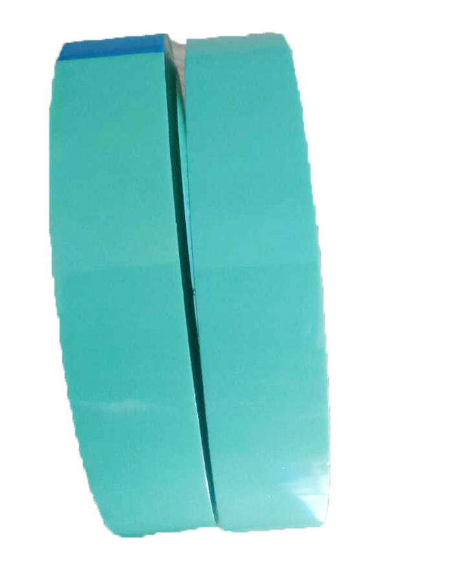 High Heat Resistant  Release Film Splicing Tape Light Green Color 50mmX50m