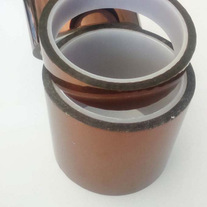 5.5 to 7.5N per 25mm Polyimide Kapton Tape Unique Combination Of Electrical Properties