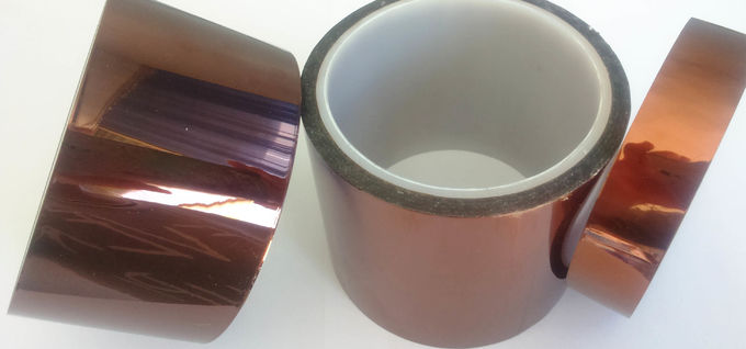 5KV Breakdown Volatge Kapton Polyimide Tape In Etching Or Fiber Optics Cable