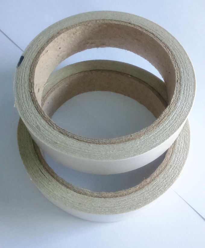 Yellow Or White Color Pe Double Splice Tape Acrylic Adhesion Strong Sticky
