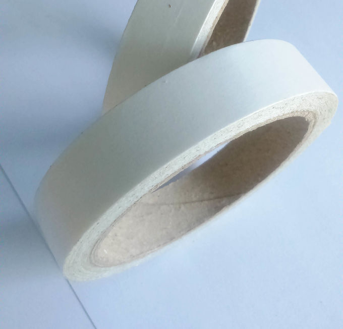 White Color Pe Paper Double Splice Tape With Heavy Stripping Force