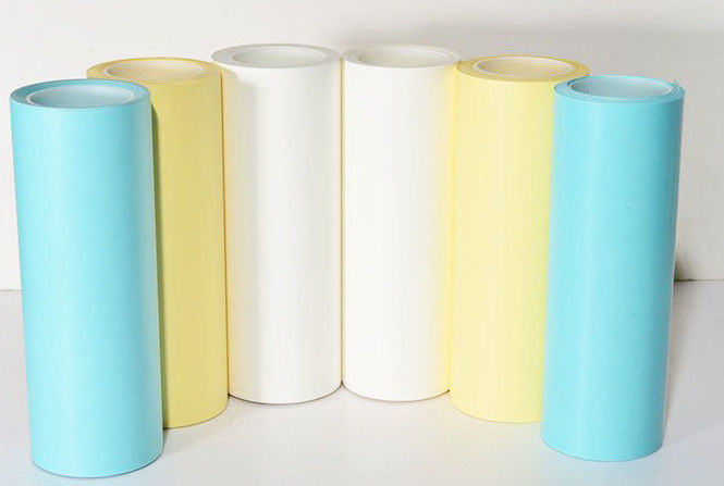 Jumbo Roll White Non Silicone Non Silicone Release Liner Chemical Pulping For Stickers